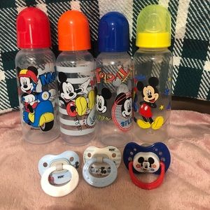 Other - 4 bottles and 3 Pacifiers